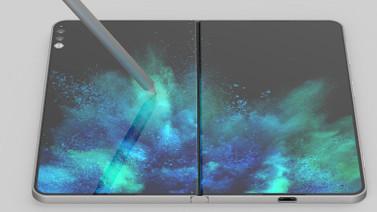 İşte katlanabilir Surface Phone!