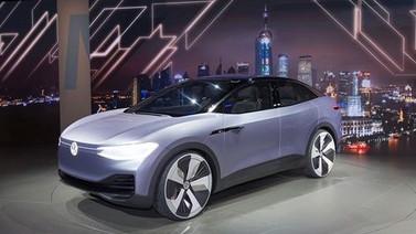 Volkswagen'in elektrikli otomobili ID Crozz!