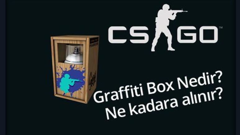 CS:GO Graffiti Box Grafiti Kasası Nedir? Kaç paraya alınır?