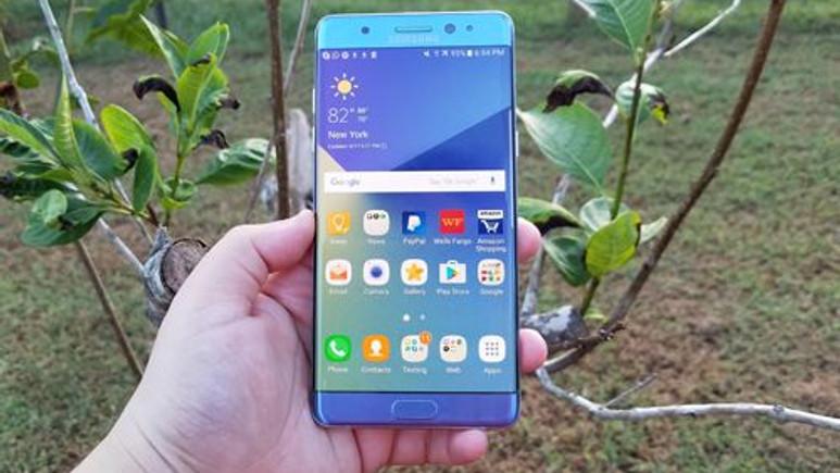 Galaxy Note 7R'nin görüntüsü sızdırıldı