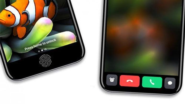 iPhone 8'deki yeni ekranın nasıl çalıştığını gösteren 7 resim