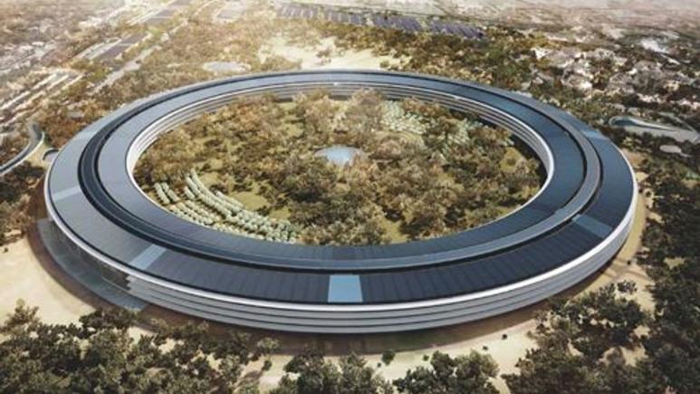 Apple'ın yeni 5 milyar dolarlık Uzay Gemisi'ni inceleyin