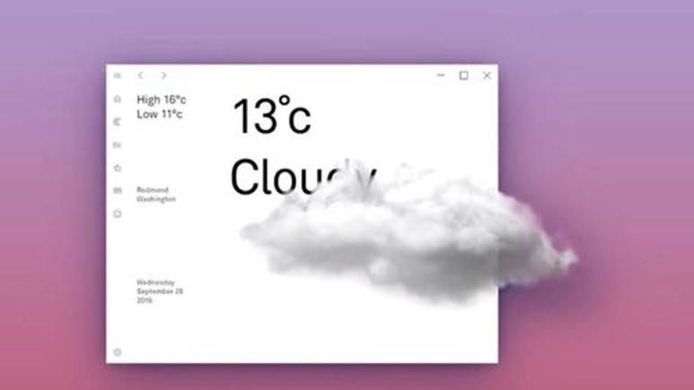 Windows 10'un çarpıcı yeni yüzünün görüntüleri