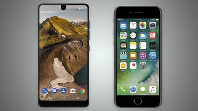 Hangisi daha iyi? iPhone 7 vs Essential Phone!