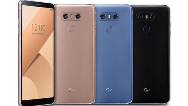 LG G6'nın daha gelişmiş versiyonu G6+ resmen duyuruldu