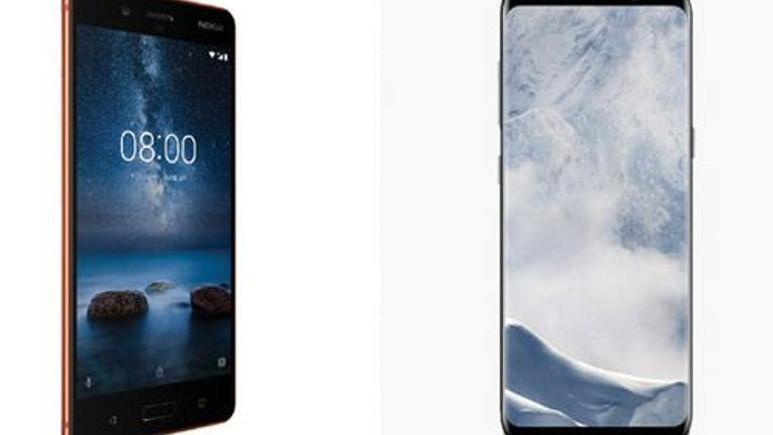 Nokia 8, Galaxy S8 ve Galaxy S8+ karşılaştırma!