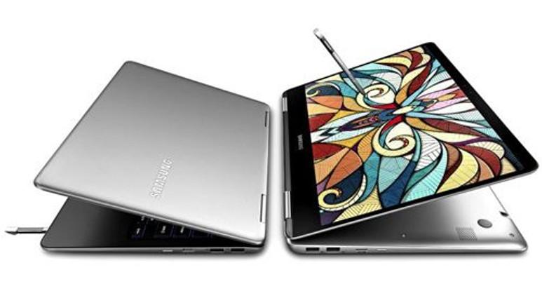 Samsung'dan S Pen kalemli 360 derece dönebilen bilgisayar