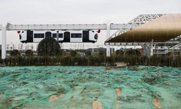 Çin'in ilk hava treni hizmete girdi - Page 1