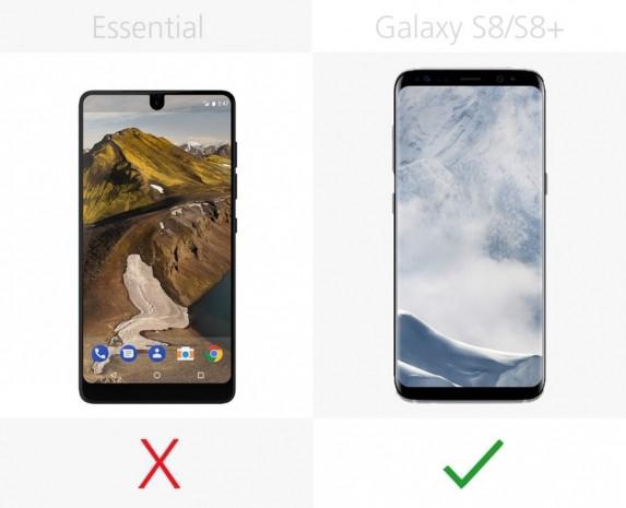 Essential Phone ve Samsung Galaxy S8 ile S8+ karşılaştırma - Page 1