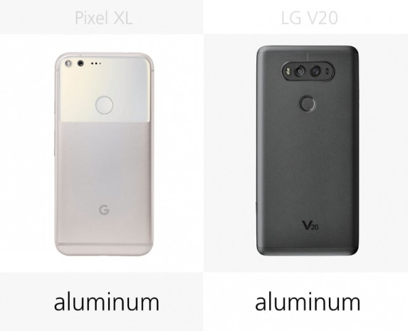 LG V20 ve Google Pixel XL karşılaştırma - Page 2