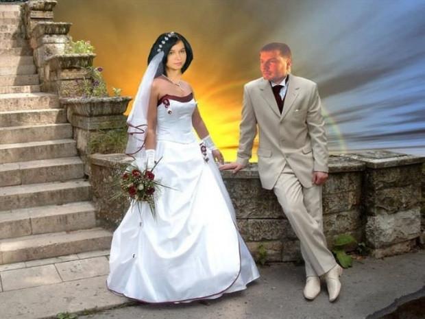 Photoshop sayesinde rezalete dönen düğün fotoğrafları! - Page 3
