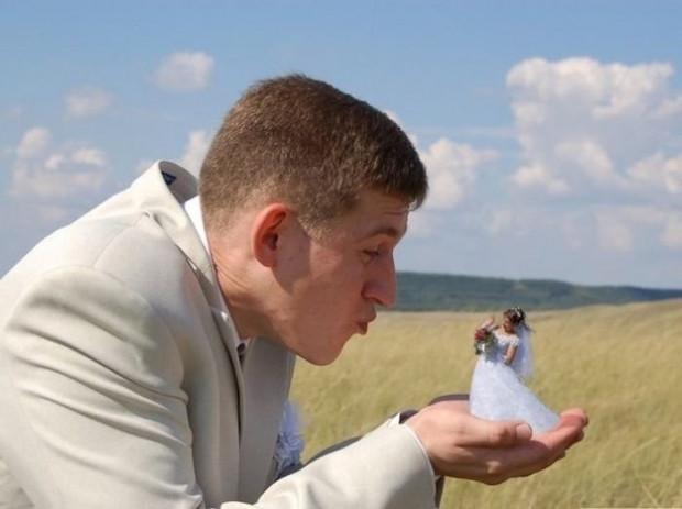 Photoshop sayesinde rezalete dönen düğün fotoğrafları! - Page 4