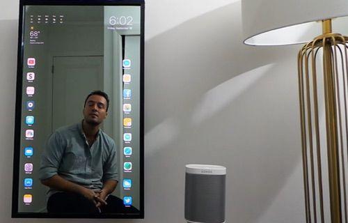 iOS 10 ile çalışan Apple ayna konsepti!