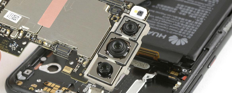 Huawei P20 Pro'daki üç kamerada ilginç detay!