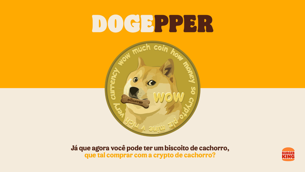 Dogecoin  latest dogecoin news Dogecoin accepted as payment method at Burger King Brazil! thumbnail