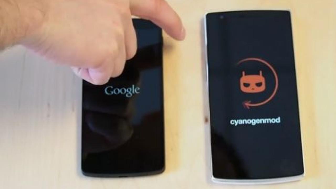 OnePlus One ve Nexus 5, açılış hızı savaşı!