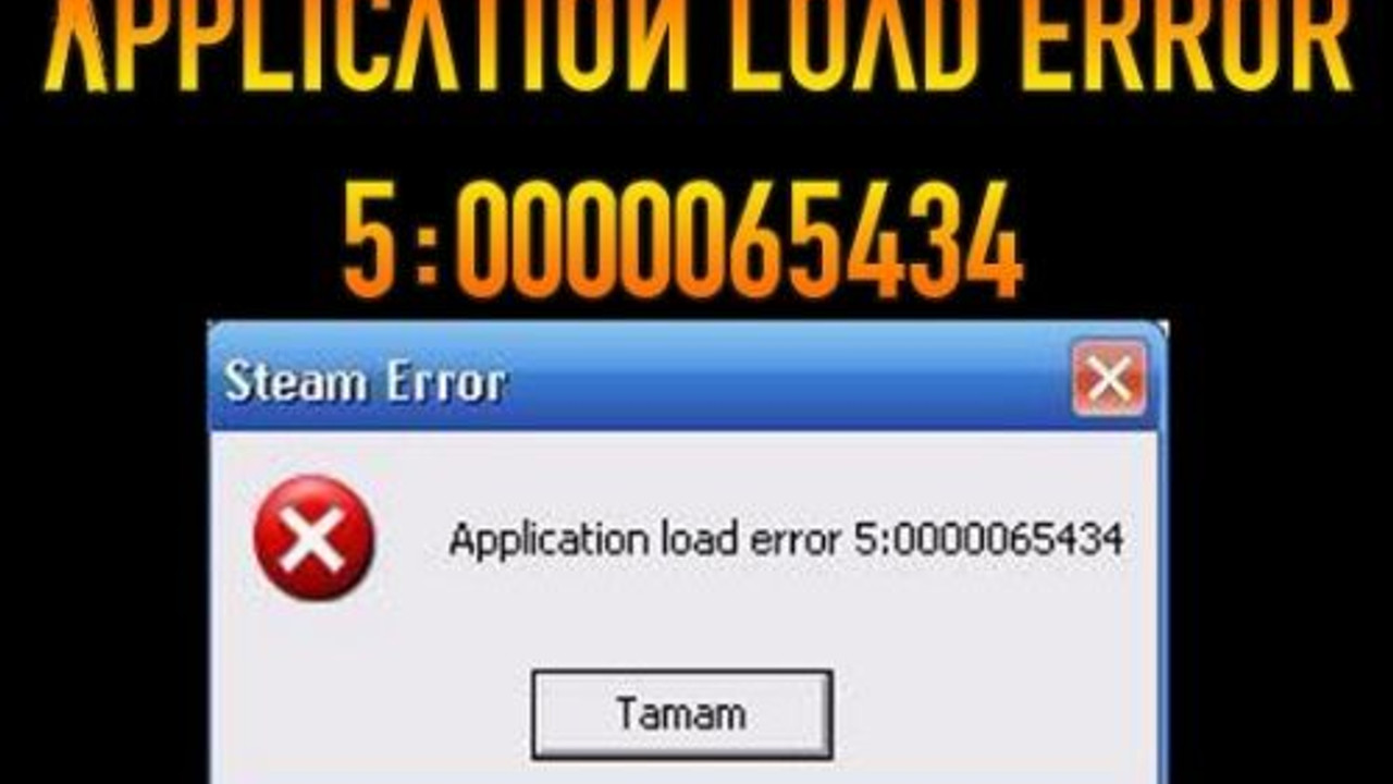 Application load error hatası neden oluşur? | Teknolojioku