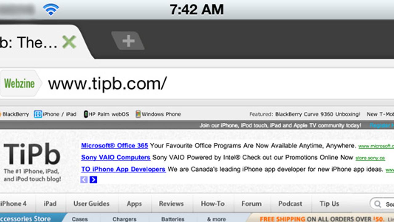 Dolphin Browser tüm yetenekleriyle iOS' da | Teknolojioku