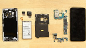 Galaxy S9 parçalarına ayrıldı (Video)