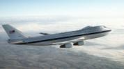 Kıyamet günü uçağı E-4B Nightwatch havalandı!