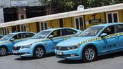 Turkuaz taksiler İstanbul yollarında!