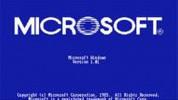 Microsoft'un 1985'ten 2011'e ekran açılış görüntüleri.