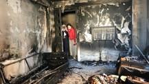 Denizli'de elektronik sigara evi yaktı!