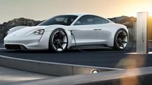Porsche Taycan fotoğrafları