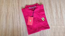 Ferrari logolu tişört sahibini buldu!