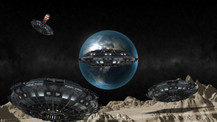 Yaklaşan cisim uzaylılara mı ait?