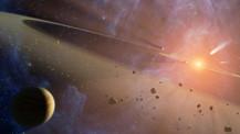 NASA dünyaya yaklaşan gök taşını görüntüledi!