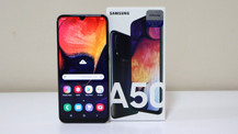Samsung Galaxy A50 kutudan çıkıyor (video)