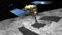 Japonya canlı yayında asteroit bombaladı!