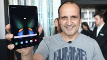 Samsung Galaxy Fold elimizde (video)
