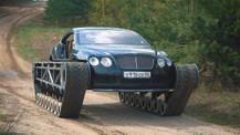 Bentley Continental GT Ultratank'a dönüştü