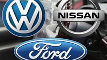 Avrupa'da Nissan, Ford ve Volkswagen satışları düştü