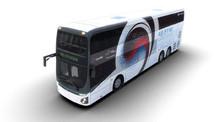 Hyundai ilk elektrikli çift katlı otobüsünü tanıttı