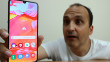 Samsung Galaxy A70 kutudan çıkıyor (video)