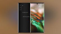 Galaxy Note 10 görüntüleri ortaya çıktı