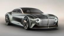 100. yıl için özel tasarım Bentley EXP 100 GT