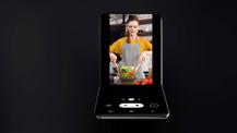 Samsung'un yeni katlanabilir telefon konsepti ortaya çıktı