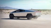 İşte Tesla'nın ilk elektrikli pick-up aracı 'Cybertruck'!
