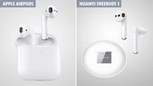 Huawei FreeBuds 3, Apple AirPods 2'ye karşı!