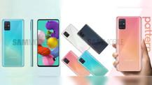 Samsung Galaxy A51 basın görselleri ve özellikleri sızdırıldı!