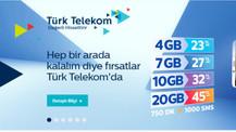 Türk Telekom'dan yeni tarifeler!