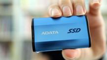 Kibrit kutusu kadar disk: ADATA SE800 inceledik!