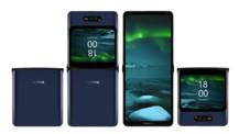 Bu da Nokia katlanabilir telefon!