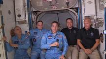 SpaceX astronotları dünyaya dönüyor!