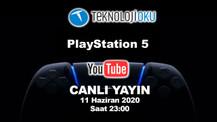 PlayStation 5 özelliklerini canlı yayında anlatacağız