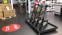 Elektrikli scooterlar MediaMarkt mağazalarında
